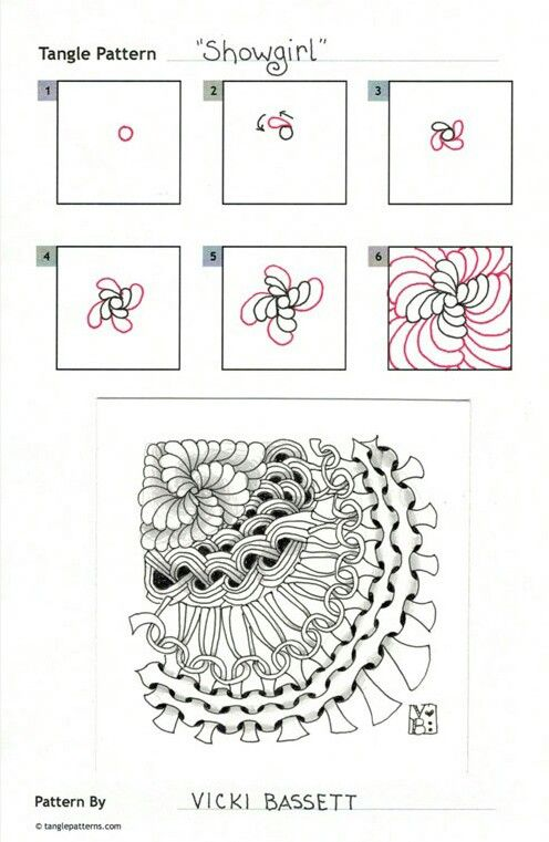 101 Best ART Tangling Patterns Images On Pinterest
