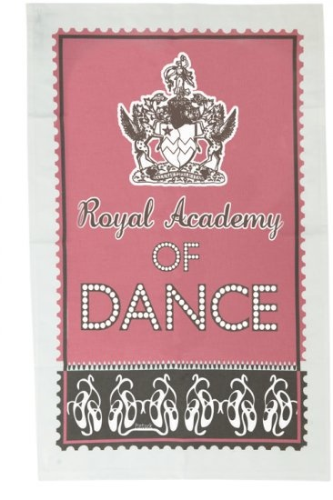 'Royal Academy of Dance' Tea Towel (400 TTOWEL)