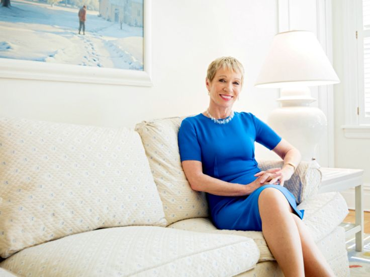 New post! ' I found myself, being mowed over like a little piece of grass by the men in the room.' - Barbara Corcoran on her first two seasons on Shark Tank // Interviewed by Polly Hilton
