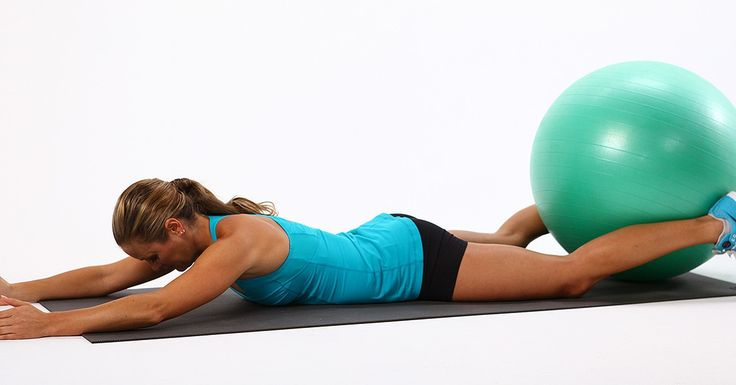 Tighten Up Your Bottom With These Exercise-Ball Moves This.