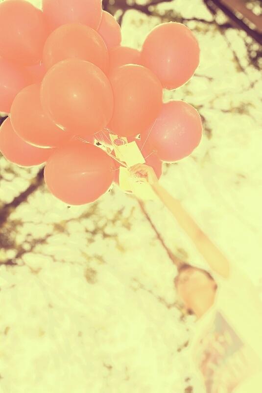 Red ballon.