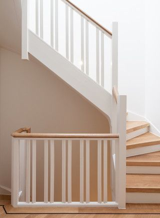Stairway. Private home Amsterdam: interior design and project management by Heyligers design+projects. www.h-dp.nl
