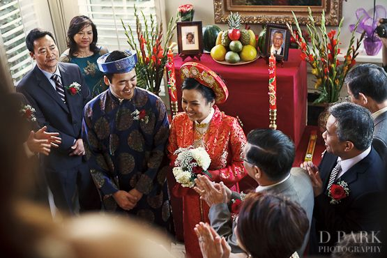 traditional VN Wedding ceremony at home