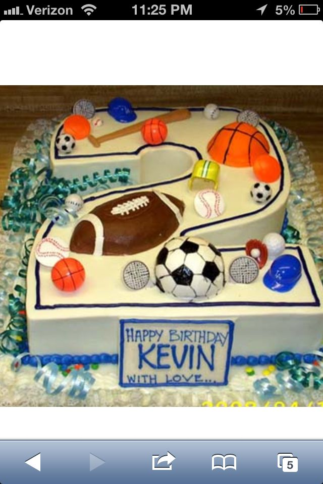 Best 25 Sports Birthday Cakes Ideas On Pinterest Sports