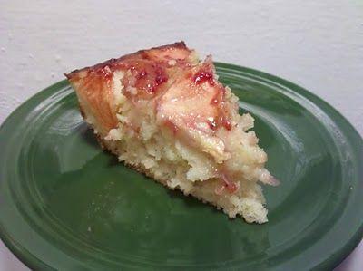 Cobbler: A food & craft blog : twd ~ Apple-Coconut Family Cake