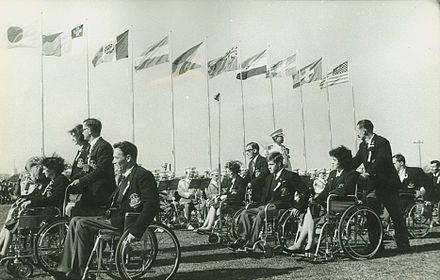 1964 Summer Paralympics in Tokyo