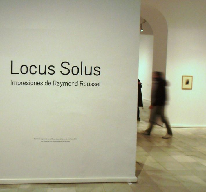 Raymond Roussel. Locus Solus exhibition, 2012