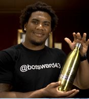#Athletes! Improve your #energy level and decrease your recovery time by drinking #alkalinewater. #TJWard from the #ClevelandBrowns does!
