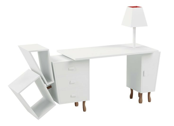 "Oblique ""Kenn Desk"" designed by Kenyon Yeh."