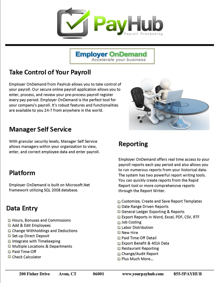 Our Employer OnDemand Services allow you to take control of your - it audit report template