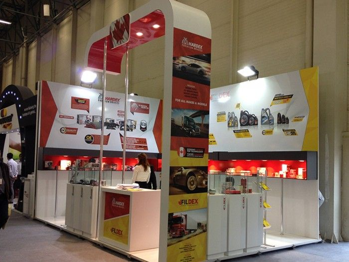 HARDEX / FILDEX, Automechanica 2014 İstanbul, Exhibition fair stand.