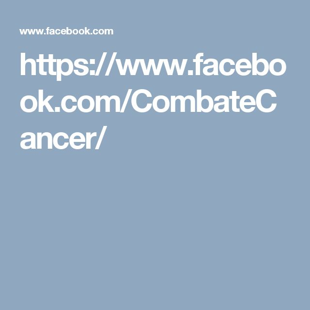 https://www.facebook.com/CombateCancer/