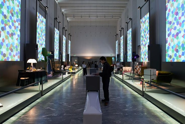 Overview of the exhibition The art of living _Triennale di Milano http://www.martinelliluce.it/