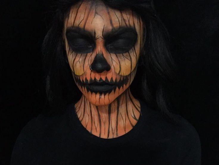 halloween face paint tutorial