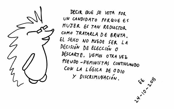 Mochito, elecciones y feminismo