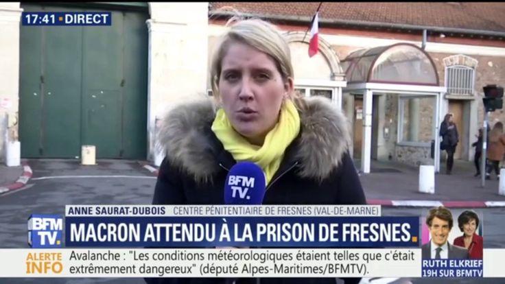 Emmanuel Macron attendu à la prison de Fresnes