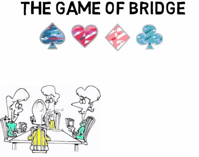 A brief animated introduction to the Game of Bridge. Great video for new players!