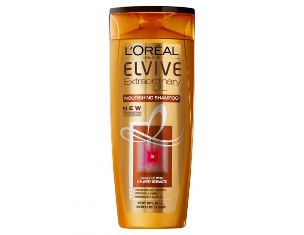 Elvive Extraordinary Oil Shampoo Very Dry . A complete experience to transform dry hair..
