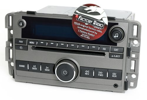 Remanufacture SERVICE for 2013-2015 Chevy Captiva Sport AM FM CD Player Radio