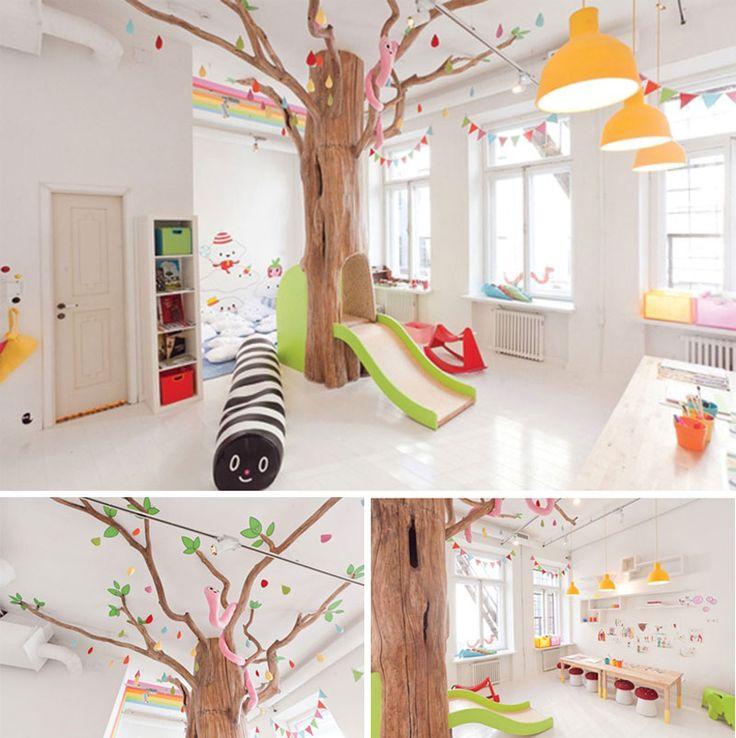 um quarto para as crianças sonharem