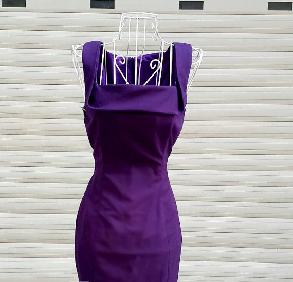 LONDON pencil shape dress custom made all sizes by heartmycloset
