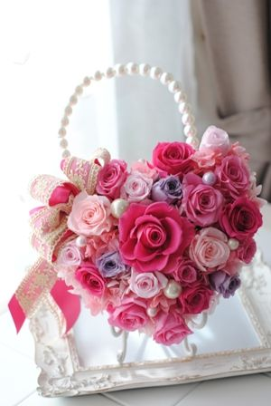 bag bouquet♡