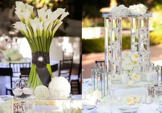 25 best ideas about d co de mariage vert anis on for Centre de table vert anis