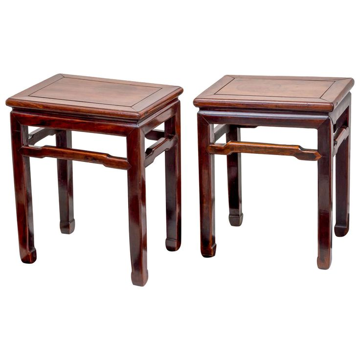 Pair Of Late 19th Century Chinese Rosewood Side Tables | From A Unique  Collection Of Antique