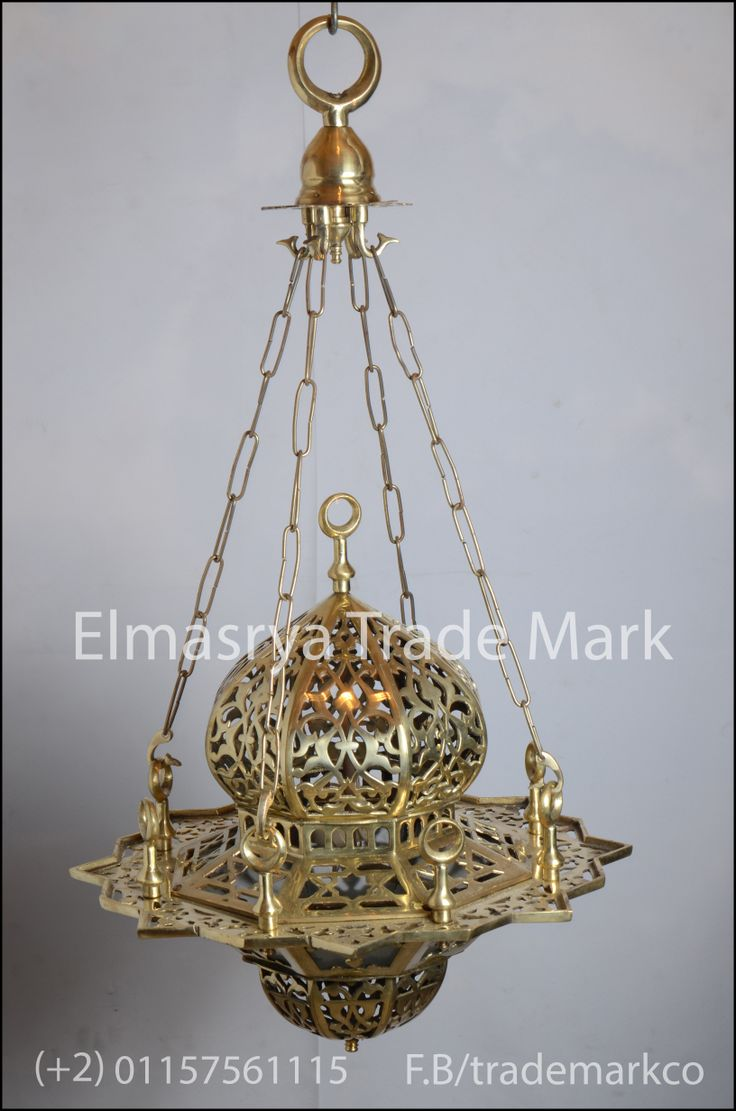 Moroccan egyptian brass chandelier lighting 7 arabic gold brass hanging lamp lanternchandelier lighting ch 100 the weight mozeypictures Images