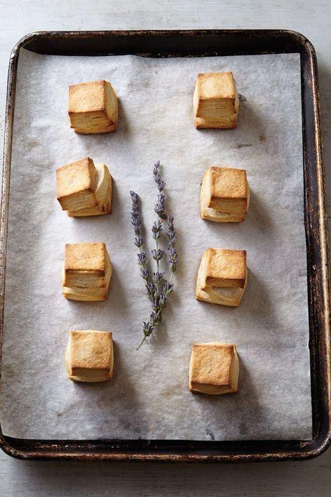 Honey Lavender Biscuits