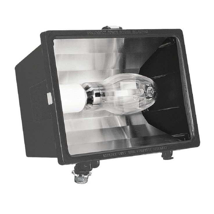 150-Watt Outdoor Bronze High Pressure Sodium Small Floodlight