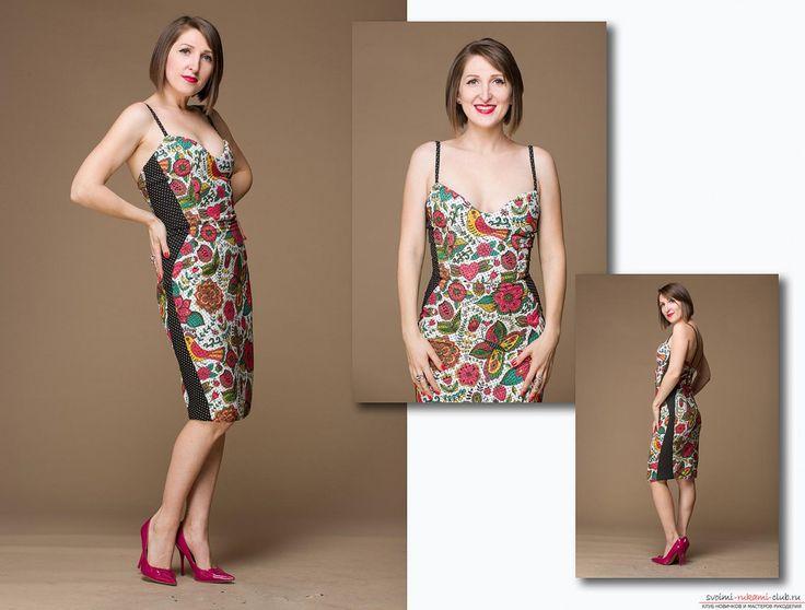 Этот мастер-класс шитья платья своими руками расскажет как сшить коктейльное платье с корсажем в стиле Мэрилин Монро.. Фото №1