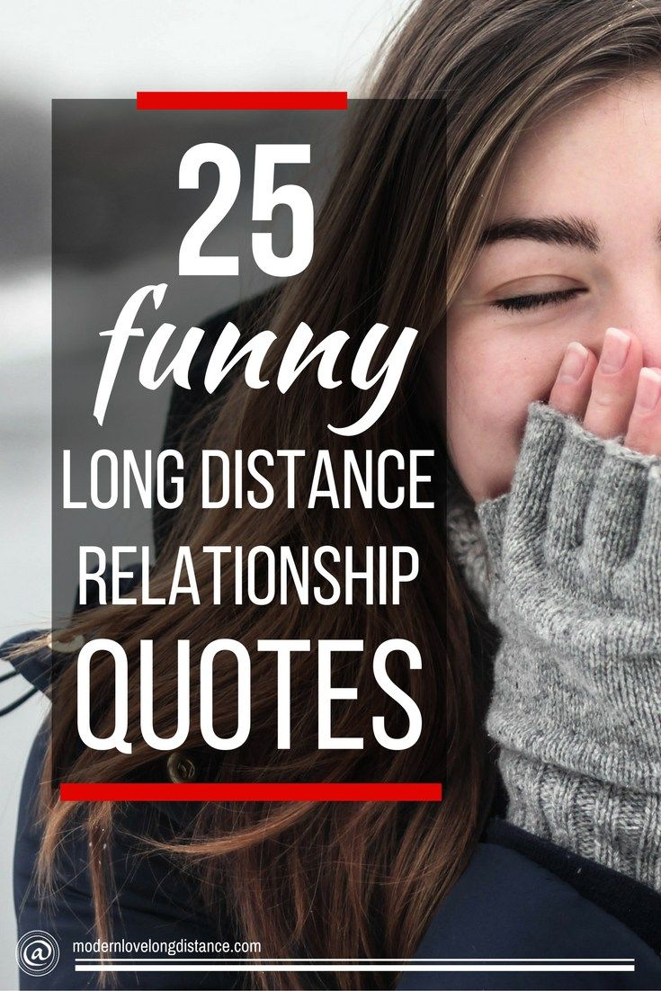 Click through for a great list of genuinely funny and cute long distance relationship love quotes.