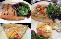 Crepes: salate e dolci per un menu a tema