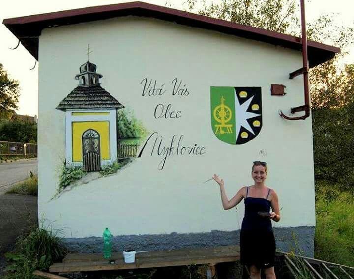 Nyklovice, bus station 3. Vysočina