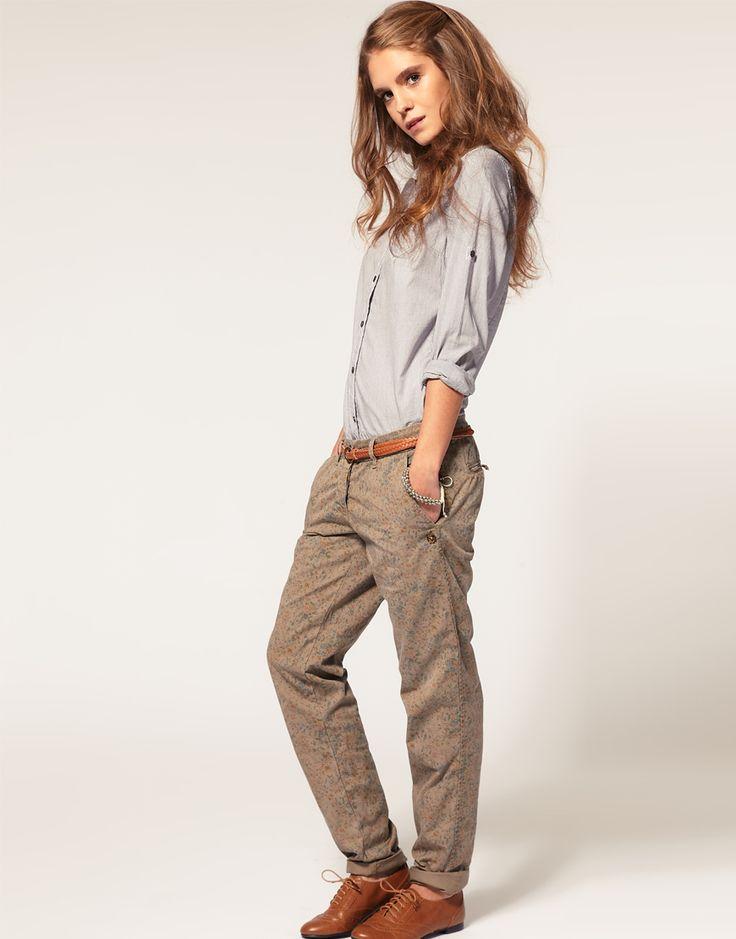 Bien-aimé Les 25 meilleures idées de la catégorie Tenue de pantalon à fleurs  MH53