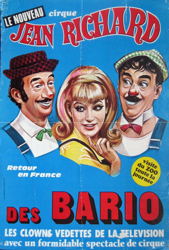 Nouveau cirque Jean Richard Les Bario