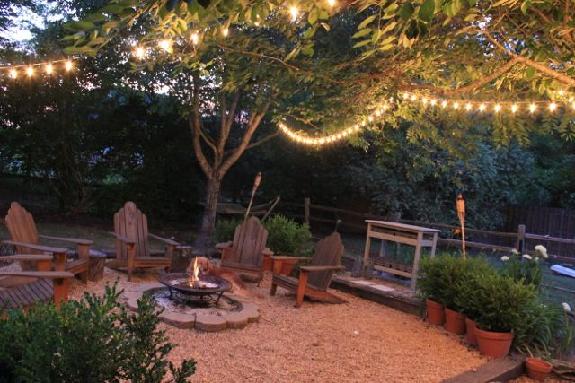 backyard firepit26 - I want this in our yard....kinda windy in Kansas but it'd be great just to hang out in.