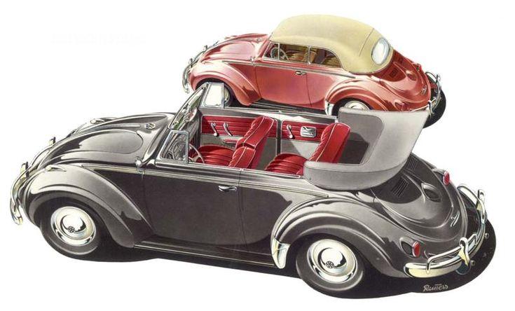 Volkswagen Cabriolet, 1954