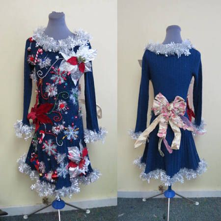 christmas sweater dress ugly - Google Search