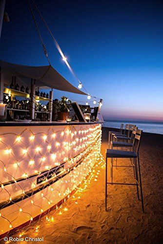 10 best Inspiring Lighting images on Pinterest | Garlands, Net ... Beach Bar Led Lighting Ideas on led recessed lighting ideas, led home lighting ideas, led car lighting ideas, led kitchen lighting ideas, led strip lighting ideas, led shelf lighting ideas, led backyard lighting ideas, indoor led lighting ideas, led garage lighting ideas, led ribbon lighting ideas, led stage lighting ideas, led tv lighting ideas, led outdoor lighting ideas, led track lighting ideas, led cove lighting ideas, led landscape lighting ideas, led step lighting ideas, led workshop lighting ideas, led cabin lighting ideas, led boat lighting ideas,