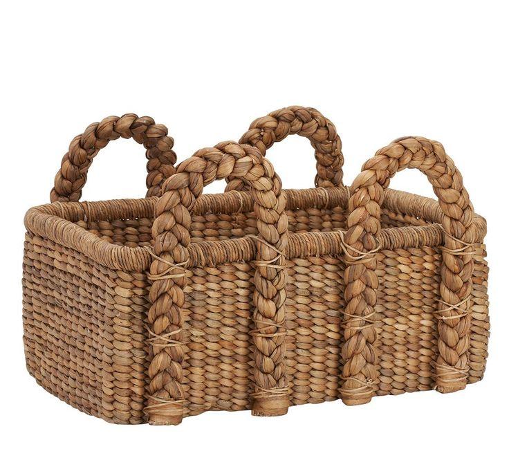 Beachcomber Low Rectangular Basket