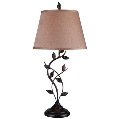 Kenroy home ashlen oil rubbed bronze table lamp