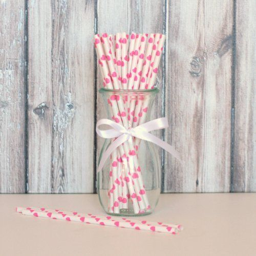 craftsandcards.com - Pink Heart Paper Straws, R50.00 (http://www.craftsandcards.com/pink-heart-paper-straws/)