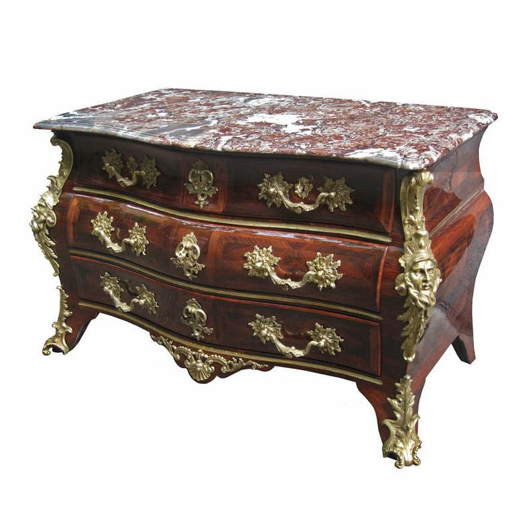 An Important Louis XV Ormolu Mounted  Kingwood Commode By Mathieu Criaerd. | 1stdibs.com Made in 1738.