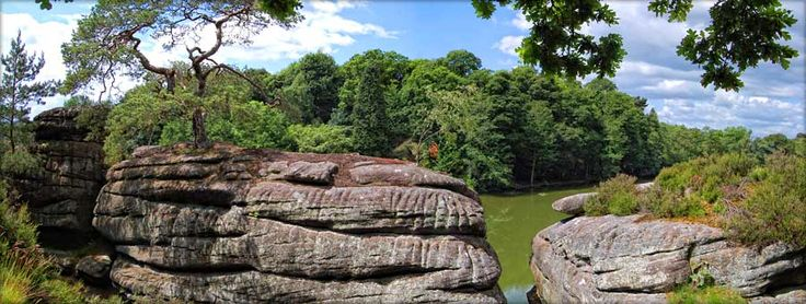 Plumpton Rocks - family day out located near Harrogate and Knaresborough in North Yorkshire