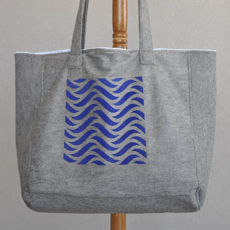 Blue handbag, Diaper bags, Carry on handbag, Grey tote bag, Spring handbag, Shopping bag, Eco friendly tote, Market bag, Womens work bag