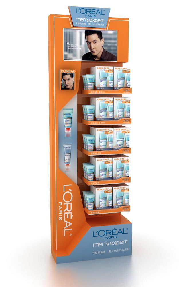 Retail Point of Purchase Design | POP Design | Health & Beauty POP Display | POP pinned by room one