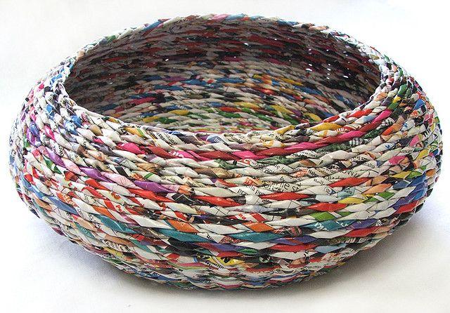 плетение из старых газет фото спутниковый телефон отличный