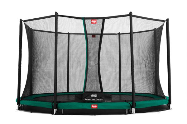 Berg InGround Champion Trampolin + Sicherheitsnetz Comfort